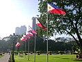 Luneta philippine flags.jpg