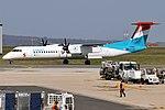 Luxair, LX-LQJ, Bombardier Dash 8 Q400 (40665123623).jpg