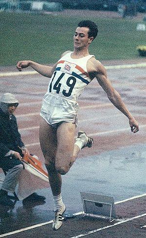 Lynn Davies - Lynn Davies at the 1964 Olympics