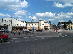 Center of Mäntsälä: Main road