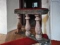 Mästerby kyrka interiör korskrank Gotland.jpg