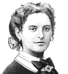 portrait of a young woman in black and white