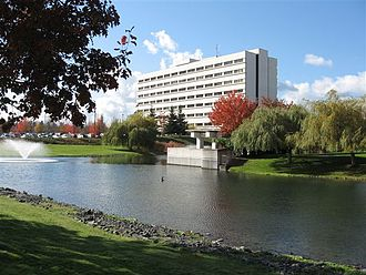 Madigan Army Medical Center - Image: MAMC in the fall