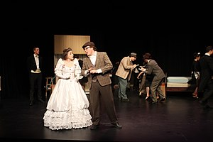 McMaster Musical Theatre - A scene from MMT's 2016 production of The Drowsy Chaperone.