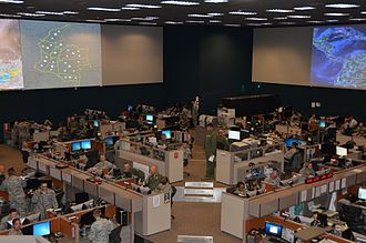 Air and Space Operations Center - A look inside the Gen. James H. Doolittle Combined Air and Space Operations Center facility (612th Air and Space Operations Center) at Davis-Monthan Air Force Base, Ariz., 2013