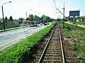 MOs810 WG 2018 8 Zaleczansko Slaski (Czeladz, torowisko tramwajowe).jpg