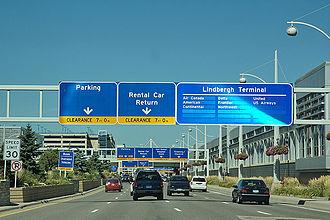 Minneapolis–Saint Paul International Airport - MSP Entrance