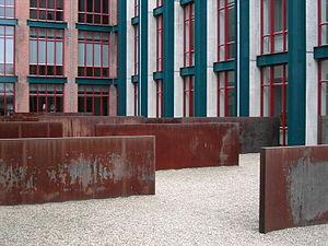 Richard Serra - Hours of the Day (1990), Bonnefanten Museum, Maastricht.