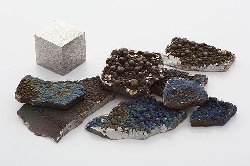 Macro image of manganese f32.0