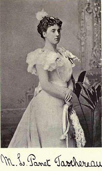 Henri Elzéar Taschereau - Madame Marie Louise Panet Taschereau by William James Topley