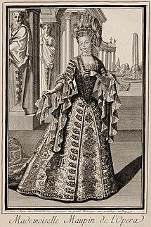 Julie dAubigny French opera singer