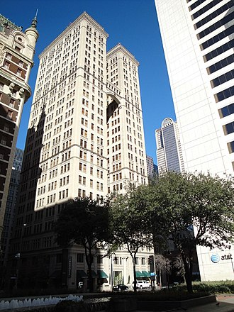 Magnolia Hotel (Dallas, Texas) - Image: Magnolia Building Dallas