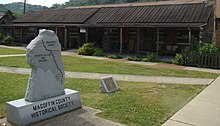 Magoffin County Pioneer Village and Museum.JPG