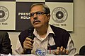 Mahidas Bhattacharya - Press Conference - Bengali Wikipedia 10th Anniversary Celebration - Kolkata 2015-01-02 2234.JPG