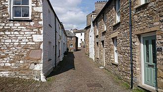 Dent, Cumbria - Image: Main Street, Dent