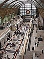 Main hall of the Musée d'Orsay, Paris February 2001.jpg