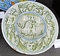 Maiolica di venezia, piatto, 1530-40 ca., collez. privata.JPG