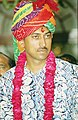Major Rajyavardhan Singh Rathore the 34-year-old officer of Indian Army represented India in double Trap Shooting at the Athens Olympics and won Silver Medal. The officer hails from an Army Family of Rajasthan.jpg