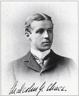 Malcolm Greene Chace American financier and textile industrialist