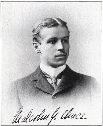 Malcolm Greene Chace - Image: Malcolm Greene Chace