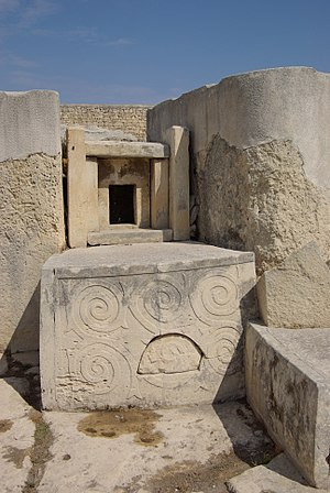 Prehistoric Europe - Tarxien Temples, Malta, around 3150 BC