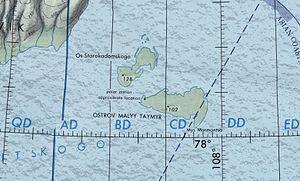 Maly Taymyr Island - Maly Taymyr and Starokadomsky Island
