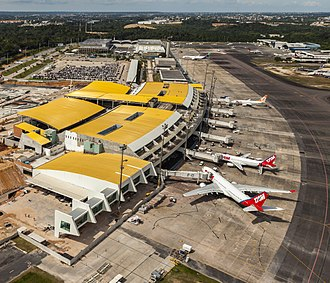 Eduardo Gomes International Airport - Image: Manaus Airport 2014
