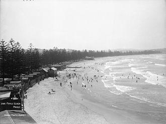Manly Beach - Manly Beach circa 1900