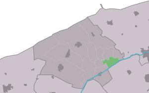 Jannum - Image: Map NL Ferwerderadiel Jannum