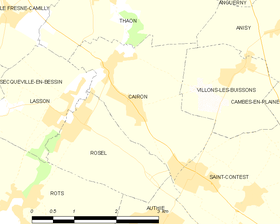 Map commune FR insee code 14123.png