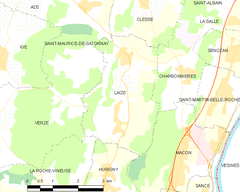 Map commune FR insee code 71250.png
