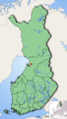 Map of Finland highlighting Kiiminki.png