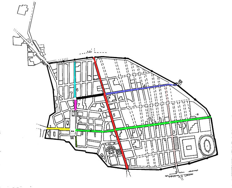 Datei:Map showing the main streets of Pompeii.jpg