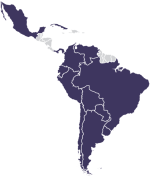 Latin American Integration Association - Image: Mapa ALADI