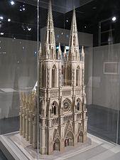 Maquette pour cathédrale du XIIIe siècle idéale.jpg