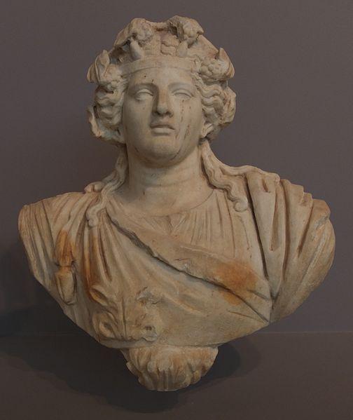 File:Marble bust of Dionysus.jpg - Wikimedia Commons
