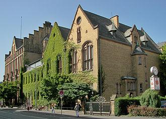 University of Marburg - Image: Marburg FB Wirtschaftswissensch aften