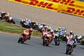 Marc Márquez leads the pack 2015 Sachsenring 3.jpeg