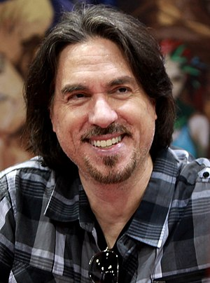 Marc Silvestri - Silvestri at the 2014 Amazing Arizona Comic Con in Phoenix, Arizona