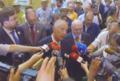 Marcelo Rebelo de Sousa com repórteres na Feira Nacional de Agricultura 2017-06-16.png