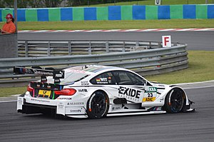 Team RMG - Marco Wittmann at the 2014 Hungarian DTM race