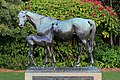Mare and Foal Statue, Botanic Gardens, Sydney.jpg