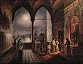 Marie-Caroline de Bourbon - Messe du soir dans un couvent.jpg