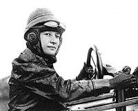 Marie Marvingt in Deperdussin aeroplane 1912.jpg