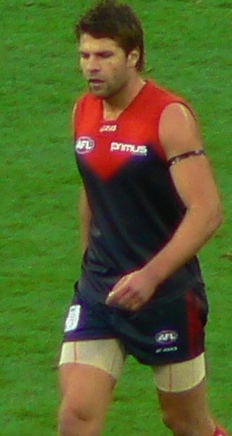 Mark Jamar - Jamar playing for Melbourne in 2007