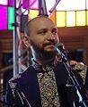 Marko Halanevych (DakhaBrakha) (Haldern Pop 2013) IMGP6628 smial wp.jpg