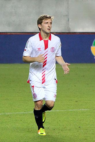 Marko Marin - Marin playing for Sevilla in 2013