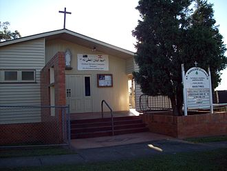Greenslopes, Queensland - Maronite (Lebanese) Catholic Church in Greenslopes