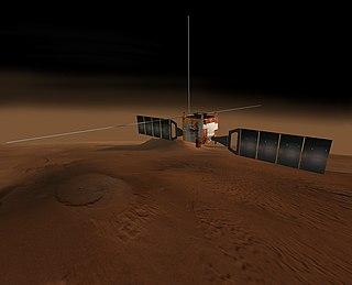 <i>Mars Express</i> European Mars orbiter