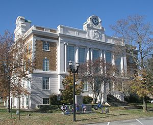 Marshall County, Tennessee - Image: Marshall County Tennessee Courthouse